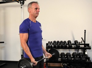 Biceps - Standing Barbell Curl