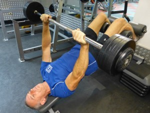 Chest - Decline Barbell Press
