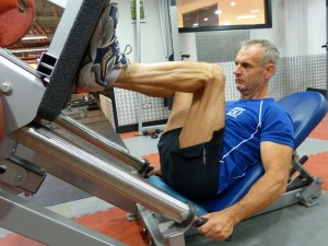 Quads - Fixed-Seat Leg Press