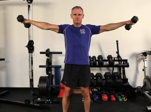 Shoulders - Lateral Dumbbell Raise